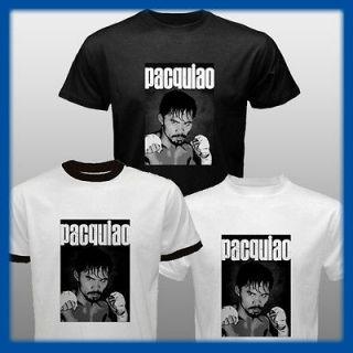 Manny Pacquiao Boxing Filipino T Shirt Pinoy Pacman Tee S M L XL 2XL