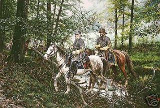 Newly listed John Paul Strain   Morning of 3rd Day   Civil War Print