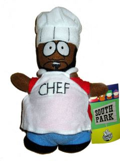 south park tv movie chef plush doll toy figure 8