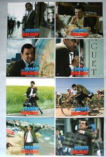 USA LCs Set of 8 Mr. Beans Holiday   2007 Rowan Atkinson, Willem