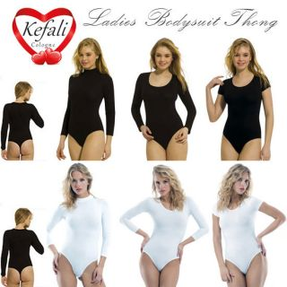 Kefali   Ladies Bodysuit Thong, Leotard Overall Underwear String   S M