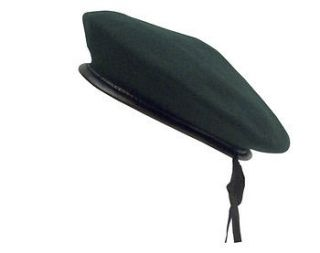 french wool monty military army gi beret black large