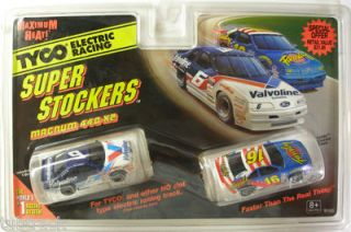 1996 tyco nascar 6 16 t birds slot car twinpack
