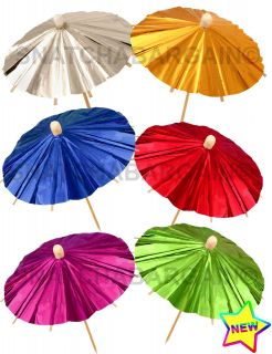cocktail umbrellas in Luau & Beach Parties