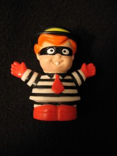 Little People HAMBURGLAR McDONALDS BOY McDonald Halloween costume