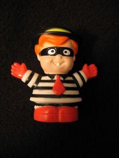 Little People HAMBURGLAR McDONALDS BOY McDonald Halloween costume