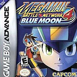 Mega Man Battle Network 4 Blue Moon Nintendo Game Boy Advance, 2004