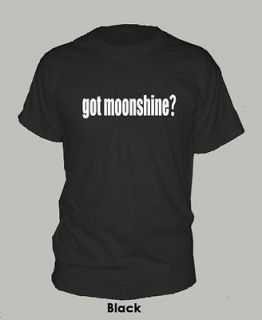 GOT MOONSHINE? ~ T SHIRT shiners popcorn sutton rip marvin EXTRA LARGE
