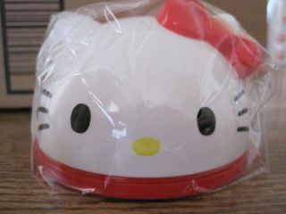 hello kitty memo pad in diecut case red bow time