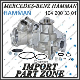 mercedes benz water pump hamman oem quality time left $