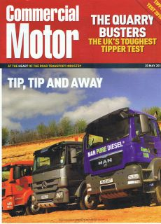 MAN Tipper Test TGS 35.400 v Mercedes Benz Actros 3241K Truck brochure