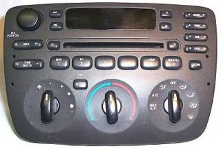 ford taurus mercury sable radio cd player 01 02 03