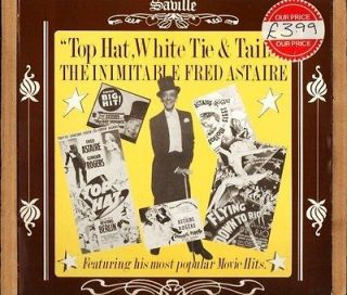 FRED ASTAIRE top hat white tie and tails the inimitable SVL 184 uk LP