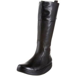 MBT Tenga Tall Shaft Black Boot Womens 100% Authentic Guaranteed