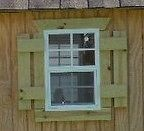 Small Tree House Windows 14X21 Flush #TH1421FW 2, Lot of 2 windows