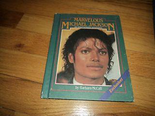 Marvelous Michael Jackson Unauthorized Biography 1 book ships 4 $2.99