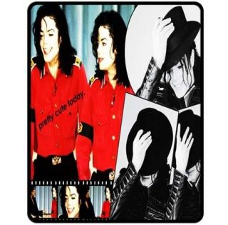 new michael jackson fleece blanket bedding gift from hong kong