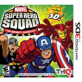 Marvel Super Hero Squad The Infinity Gauntlet Nintendo 3DS, 2011