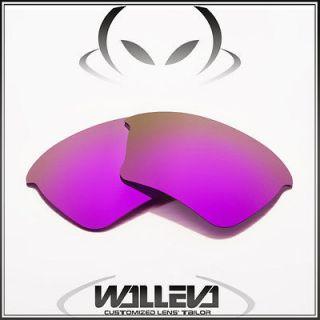 Purple Replacement Lenses For Oakley Half Jacket XLJ Sunglasses