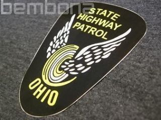 outside oh ohio state highway patrol police decal time left