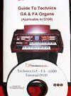 dvd tutorial for technics ga1 ga3 fa1 g100 f100 organs from united