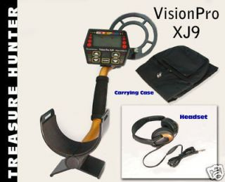patented treasure hunter xj9 metal detector free pro pa one