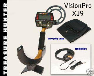 patented treasure hunter xj9 metal detector free pro pa one
