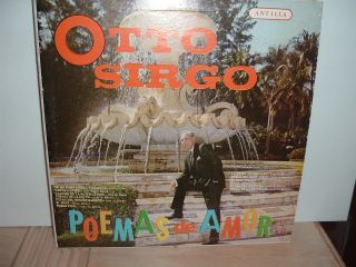 otto sirgo poemas de amor rare antilla vinyl lp nm