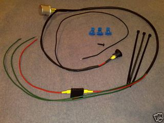hazard warning system for bike trike kit car mot this