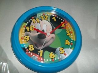 disney mickey mouse clubhouse wall clock new from canada time