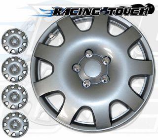 Silver Hubcaps Wheel Cover Rim Skin Hub Cap #502 (Fits: Mercury Milan
