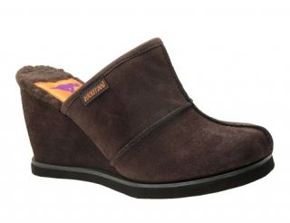 WOMENS ROCKET DOG EXPAND SUEDE BROWN BLACK CLOGS MULES SHOES 5.5 6