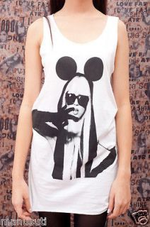 LADY GAGA MICKEY POP ROCK POP ART Fashion WOMEN T SHIRT TANK TOP Dress