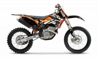 FLU Designs KTM Pro Team Series Graphic Kit SX 125 250F & EXC/XCW 200