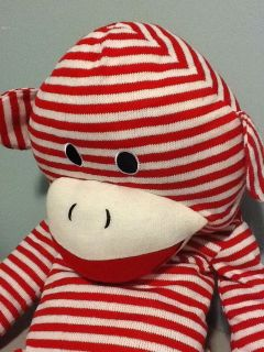 sock monkey extra large he s super cool time left