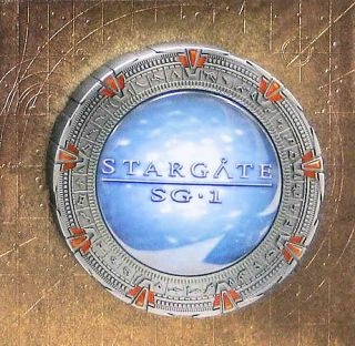 Stargate SG 1   The Complete Series Collection DVD, 54 Disc Set Metal