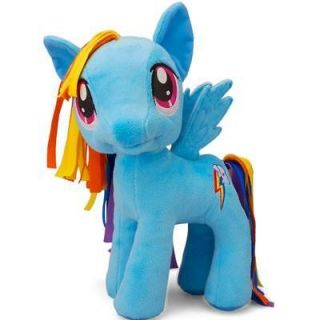 NEW My Little Pony 11 Exclusive LARGE Plush Toy RAINBOW DASH mlp