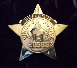 Newly listed Chicago Detective Police Badge   Full Size   Old Style