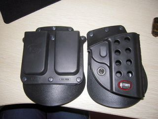 Newly listed FOBUS RH BELT PADDLE HOLSTER & MAG POUCH FITS 1911 FULL
