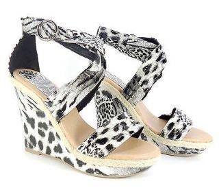 BN Leopard Print Pump Party/Ball/Prom Platform 4.5 High Heel Women