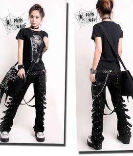 KEI PUNK rave rock cool gothic Japan Kera NANA COOL Pants Trousers XXL