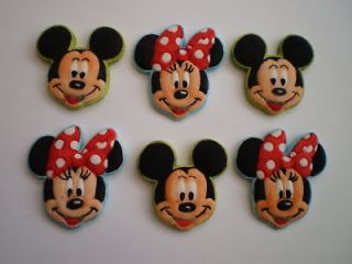 edible mickey and minnie mouse style cupcake cake