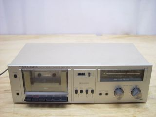 Realistic Stereo Cassette Deck Tape Player SCT 24