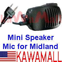 Handheld Shoulder Speaker Mic For Midland Walkie Talkie Radios