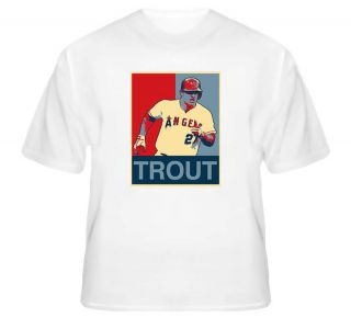 mike trout los angeles baseball t shirt more options size