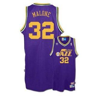 Karl Malone Utah Jazz #32 Retro Swingman adidas NBA Jersey (Purple)