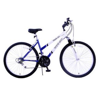 titan trail 2 0 women mountain bicycle bike blue white