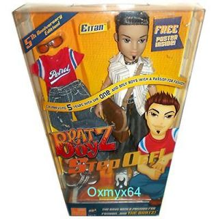 bratz boyz step off eitan 10 fashion doll nrfb one