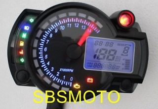 mini motorcycle motor bike lcd digital speedometer odometer from china