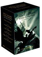 percy jackson 5 paperback book boxed set rick riordan from